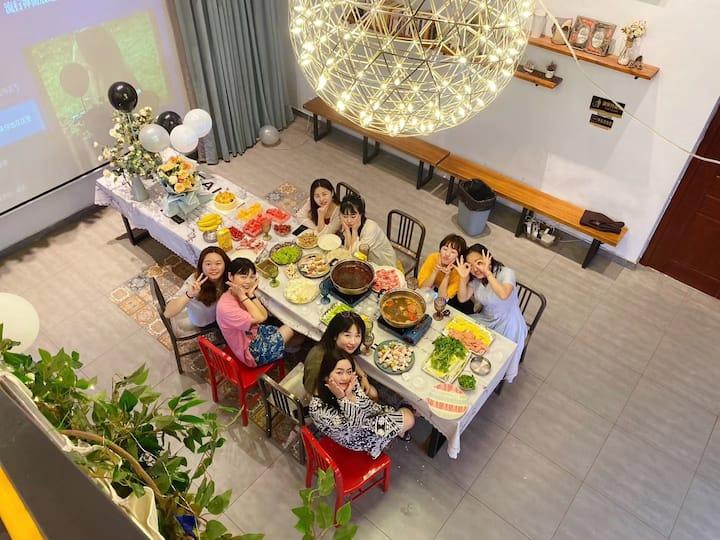 长沙市区德思勤loft聚会轰趴,十一国庆旅游,公司团建生日派对商旅沙龙,近高铁机场