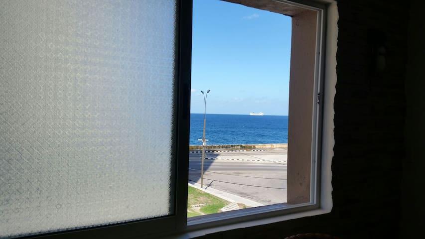 Casa de Rita y Fito, frente al mar!!
