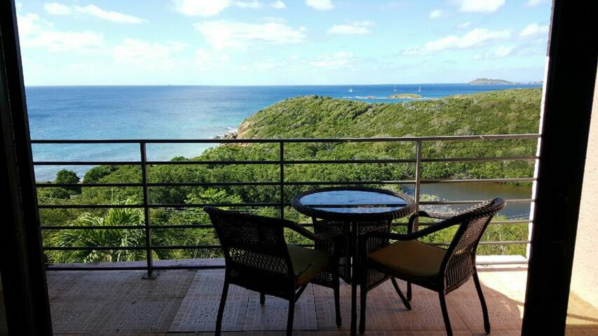 Studio Apartment overlooking Bolongo Bay