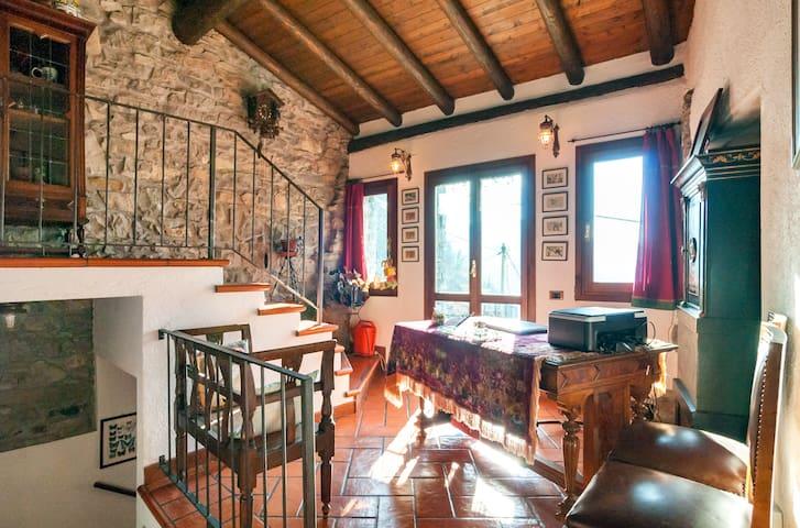 Haus voller Scharme umgeben von Kunst und Natur
