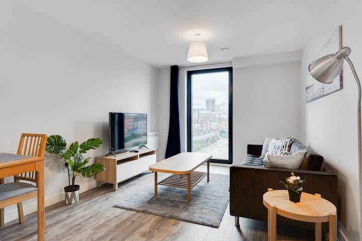 Modern 1 Bedroom Flat In Central Birmingham