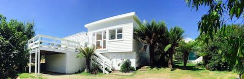 Krásny kreatívny ústup na polostrove Tasman
