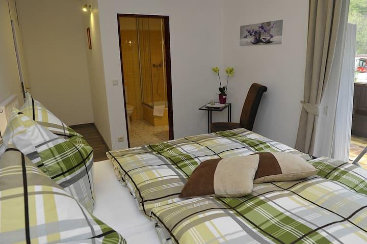 Hotel Elfenmühle Doppelzimmer mit Balkon