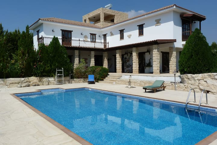 AMAZING VILLA, POOL, VIEWS, LUXURY, FREE WIFI - Limassol - Villa