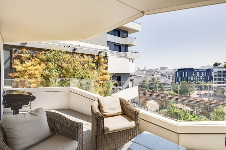NICE HIGH STANDING APARTMENT NEAR AQUABOULEVARD - ISSY-LES-MOULINEAUX