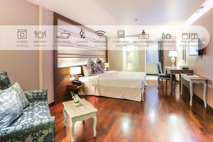 The Sathon Hotel - Superior room No view