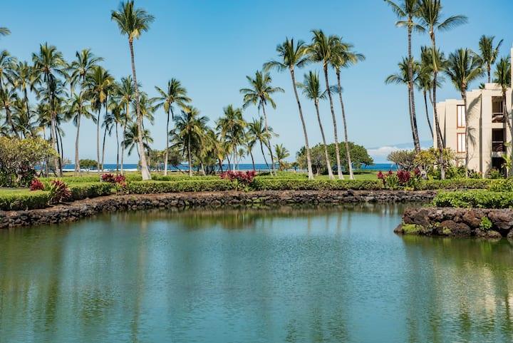 1 BR/2 BA Oceanfront Mauna Lani Terrace E102