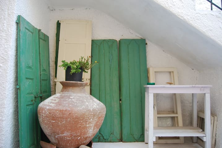Traditional house in Samos