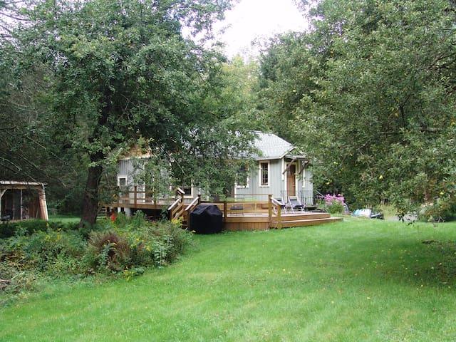 Cozy Catskll Mtn streamside retreat - Lanesville - Ház