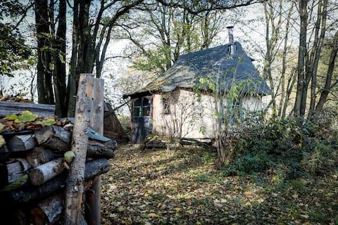 slaměný domek