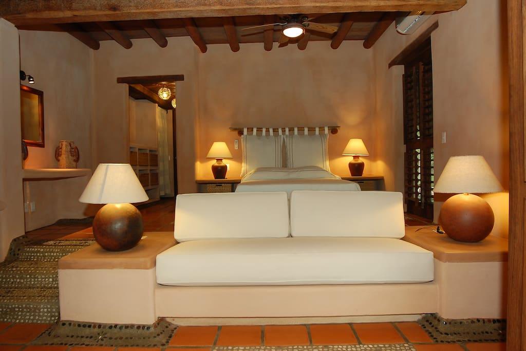 la decoracion de las Suites con elementos regionales