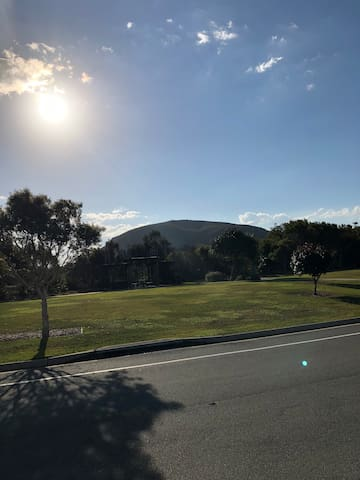 View of Mount Coolum