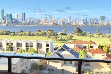 Luxury Apartment With Perth City Views - South Perth - Byt