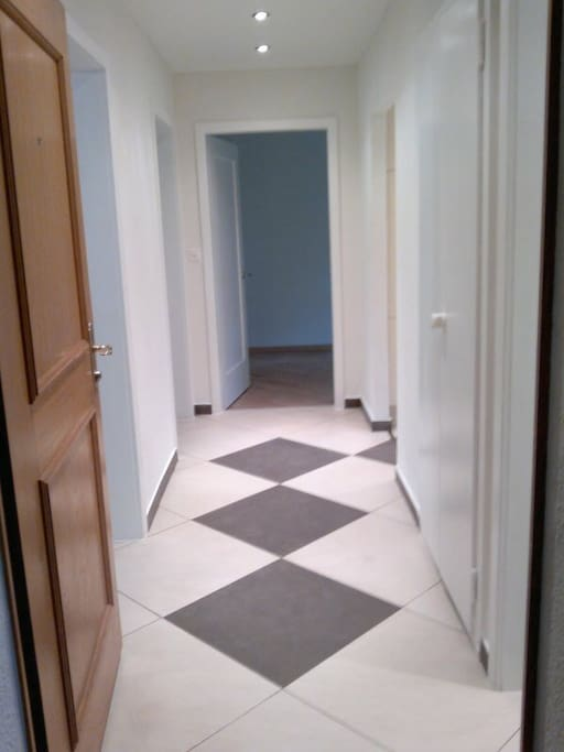 Hallway with drawer for shoes (not in the picture)