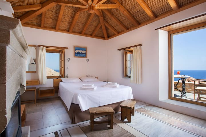 Superior Double Room with Balcony | Bastione Malvasia Hotel