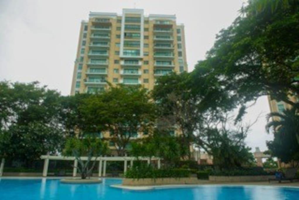 Prime unit condominium with city view