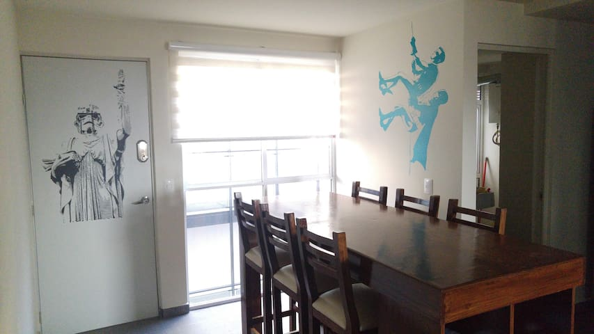 Cool downtown apartment in Reforma Avenue
