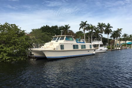 Houseboat in Delray Beach - Boat