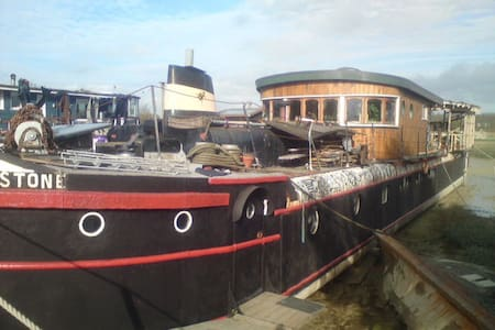 Room on Houseboat  Rebus Stone - Shoreham-by-Sea