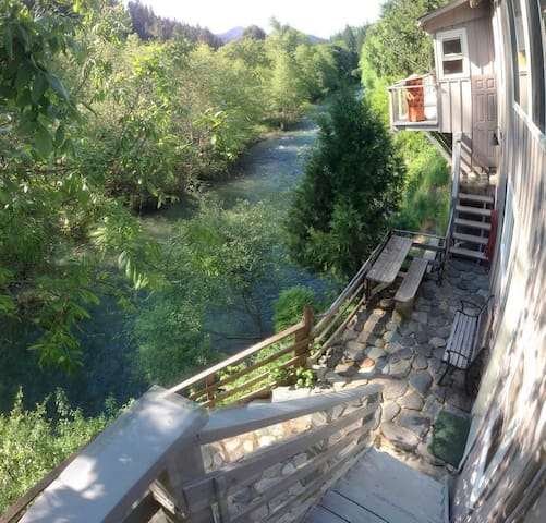 Studio On Beautiful Indian Creek - Happy Camp - Ház