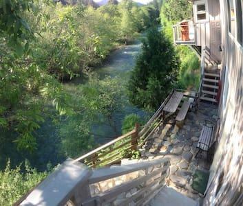 Studio On Beautiful Indian Creek - Happy Camp - 独立屋