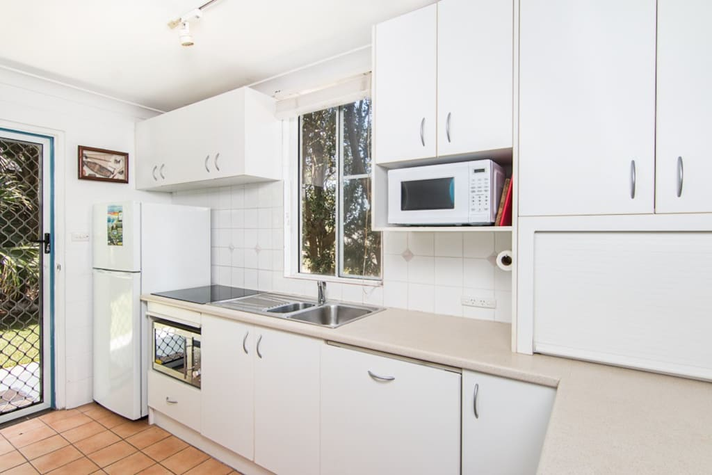 Kitchen renovated in 2016 with new stove top,dishwasher and convection microwave oven