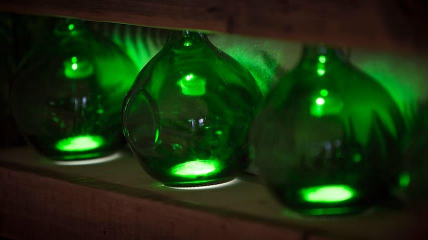 ODU style bottle design lamps ...