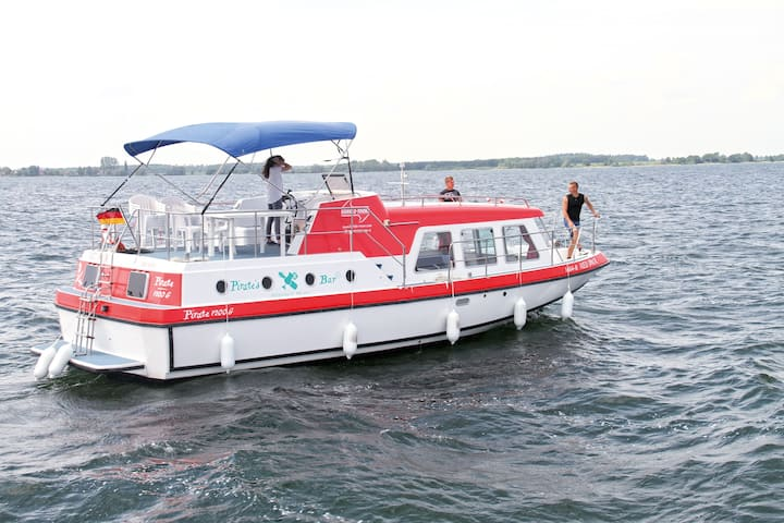 Hausboot Pirate 1200G