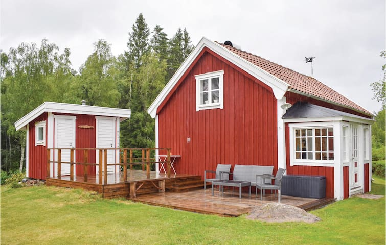 Holiday cottage with 2 bedrooms on 50m² in Nässjö