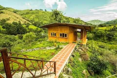 Casa de la Loma in Chambalabamba Ecovillage