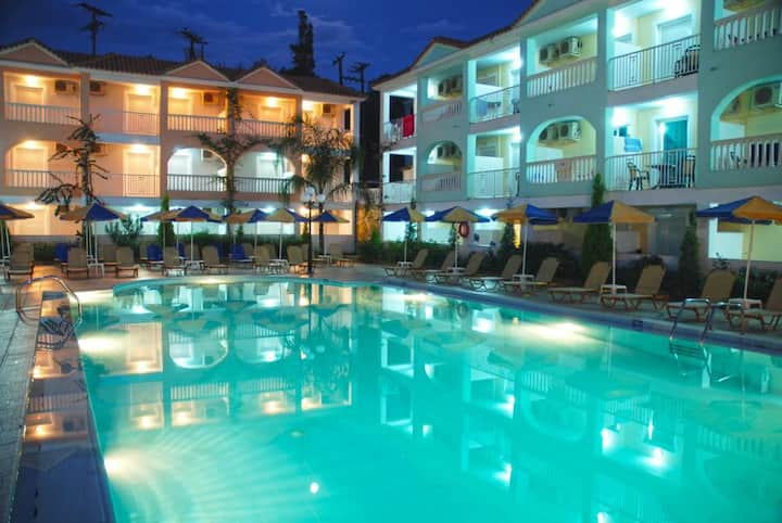 Two Adults - Two Children All inclusive pool hotel