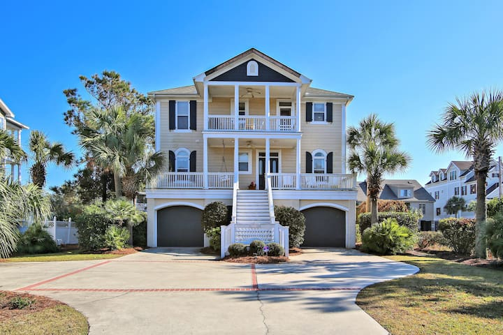 Sippin Seaside a Ocean Limited View House - Pawleys Island - Rumah