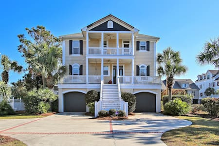 Sippin Seaside a 6 Bedroom, 6.5 Bathroom Situated in North Litchfield Beach - Pawleys Island - Dom