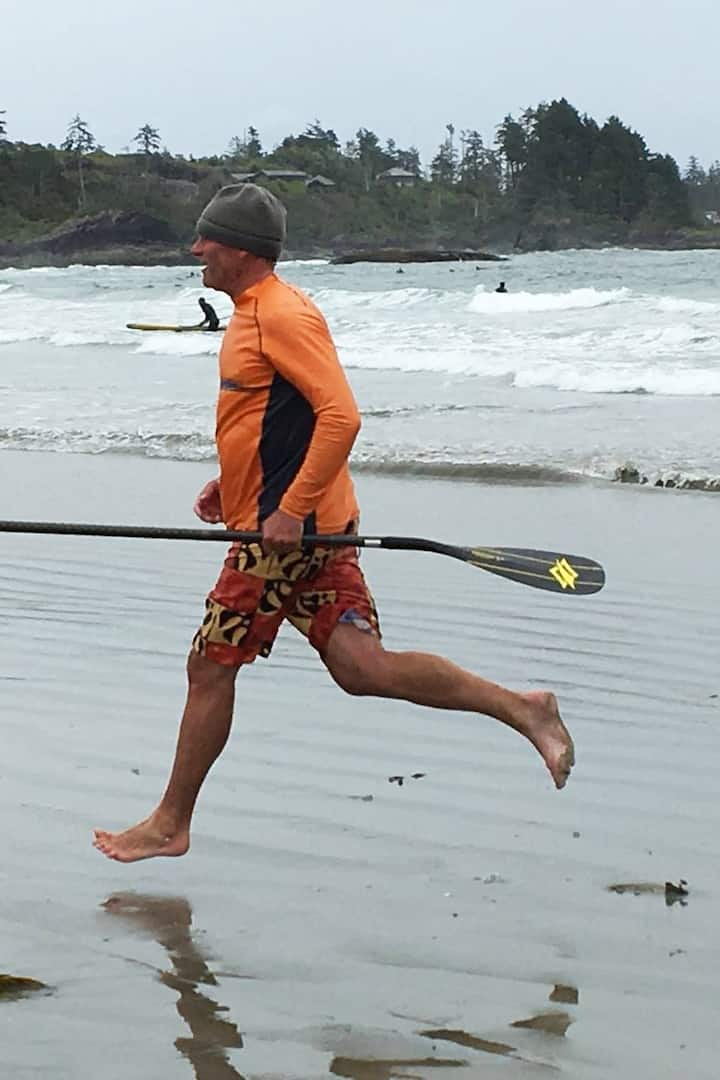 SUP Racing at Tofino