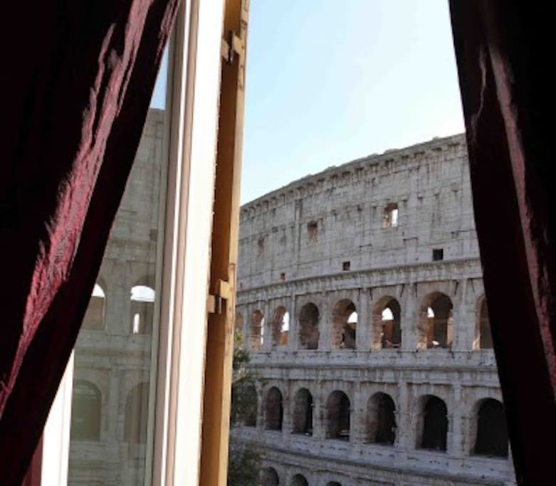 This Photo had 50 voties from Google Map - View from Main Bedroom - Home Holiday Colosseo