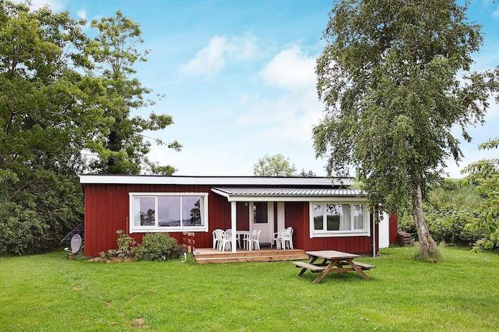 Acogedora casa de vacaciones en Farsø cerca del mar
