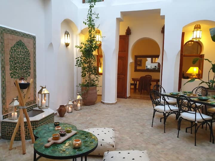 Place des Epices, Riad Aslan en exclusivité, wifi
