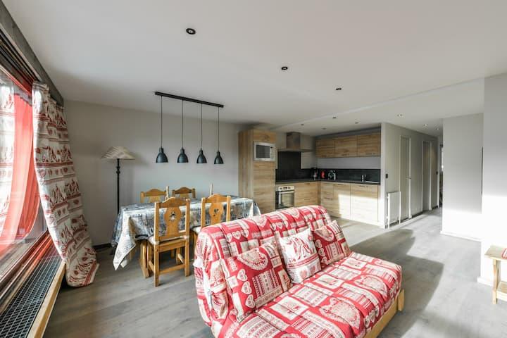 2 bedrooms appaertment ski in ski out