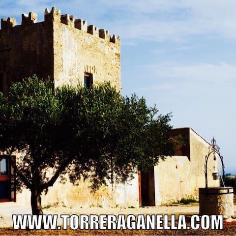 Torre Raganella Sciacca app giardin - Sciacca - Casa