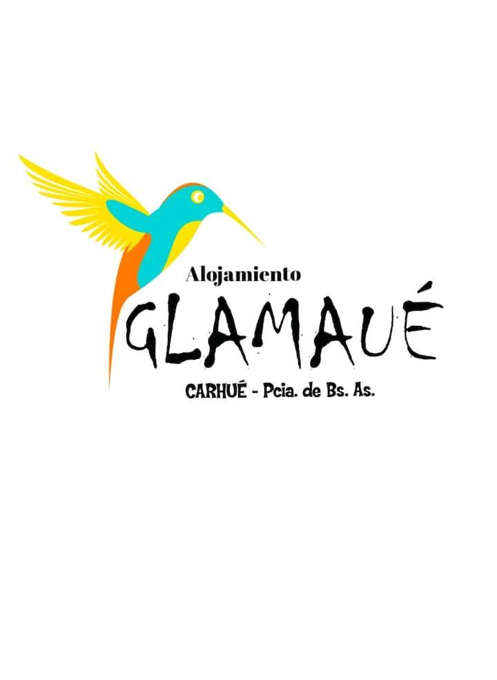 Alojamiento GLAMAUÉ - Carhué. Disfruta tu descanso