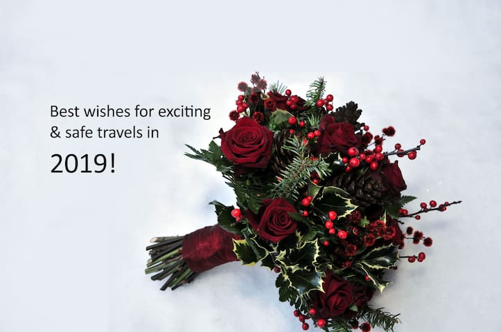 Best wishes for 2019! Many thanks to our guests!