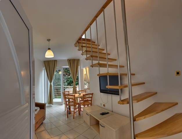 livingroom and balcony