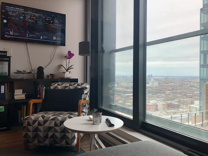 Luxury 1 bdr apartment downtown