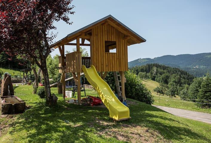 Spielhaus für die Jüngsten