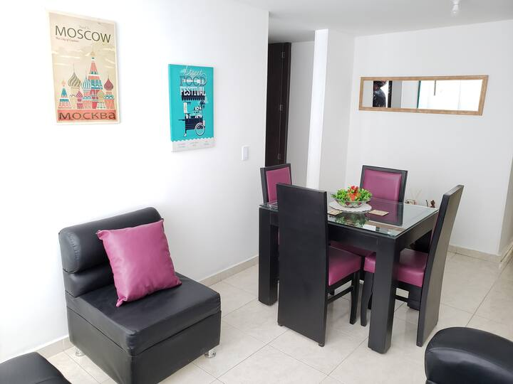 Apartamento Entero Cama2×2-WiFi 50Mb! Netflix