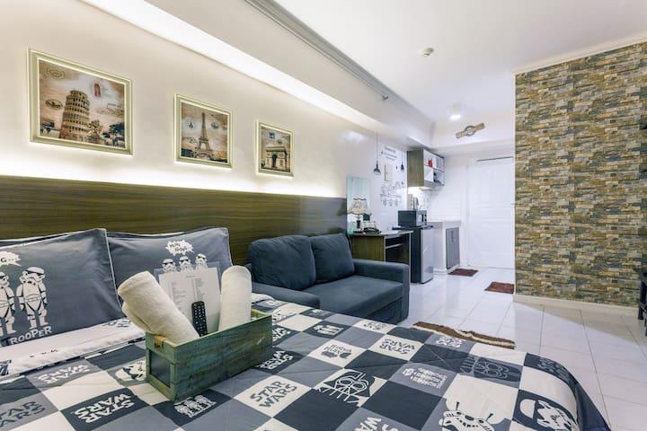 Honku Tagaytay Staycation- TAAL VIEW/ WIFI