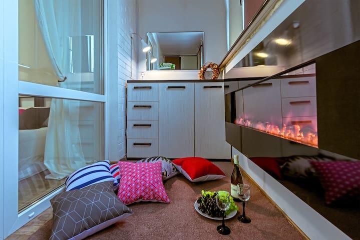 УК Наши Квартиры. Квартира с камином.