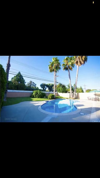 院子泳池公用