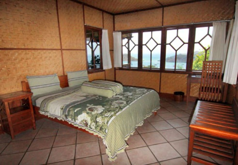 Master bedroom of the main house - upstairs
