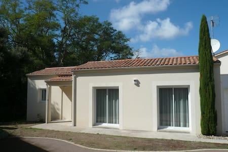 Agréable maison, au calme, à 700 m de la plage - Jard-sur-Mer